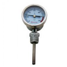 Термометр биметаллический (радиальный) 0-120C, D63, L64