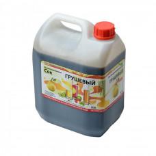 Сок концентрированный грушевый (канистра 5кг)